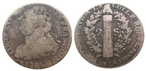 Infonumis les monnaies sous la constitution - Sol en piece de monnaie ...